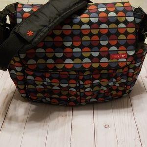 Skip * Hop Diaper bag with circles